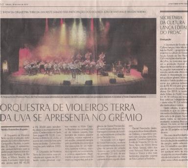 Jornal Cidade de Rio Claro - OVTU 18-05-2013